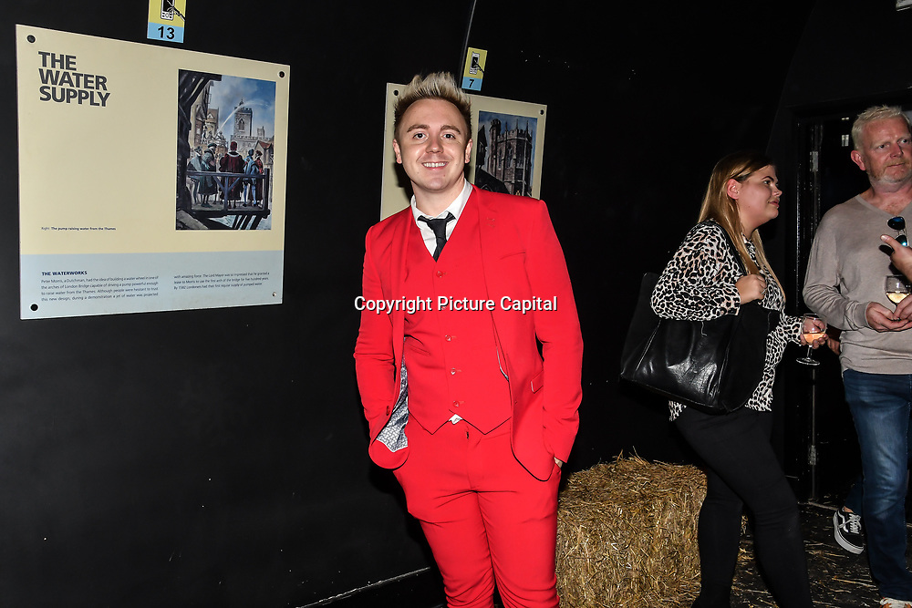 John Galea attend Press night an halloween experience at  London Tombs at The London Bridge Experience, UK. 18 October 2018.