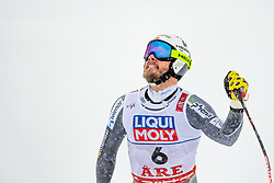 February 9, 2019 - Re, SWEDEN - 190209 Kjetil Jansrud of Norway celebrates after competing in men's downhill during the FIS Alpine World Ski Championships on February 9, 2019 in re..Photo: Joel Marklund / BILDBYRN / kod JM / 87853 (Credit Image: © Joel Marklund/Bildbyran via ZUMA Press)