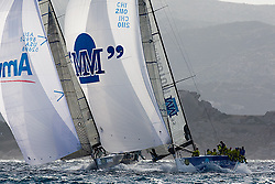 07_014126 © Sander van der Borch. Porto Cervo - ITALY,  28 September 2007 . TP52 Worlds in Porto Cervo (23/29 September 2007). Race 7.