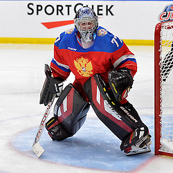 WHITBY, - Dec 14, 2015 -  Game #4 - Russia vs. Canada East at the 2015 World Junior A Challenge at the Iroquois Park Recreation Complex, ON. Vladislav Sukhachev #77 of Team Russia during the second period.<br /> (Photo: Shawn Muir / OJHL Images)