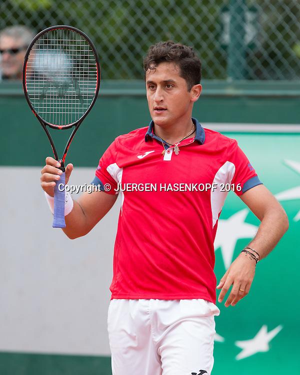Nicolas Almagro (ESP)<br /> <br /> Tennis - French Open 2016 - Grand Slam ITF / ATP / WTA -  Roland Garros - Paris -  - France  - 24 May 2016.