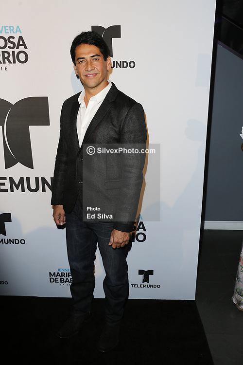 LOS ANGELES, CA - JUNE 26: Gabriel Porras arrives for the Screening Of Telemundo's 'Jenni Rivera: Mariposa De Barrio' at The GRAMMY Museum on June 26, 2017 in Los Angeles, California. Byline, credit, TV usage, web usage or linkback must read SILVEXPHOTO.COM. Failure to byline correctly will incur double the agreed fee. Tel: +1 714 504 6870.