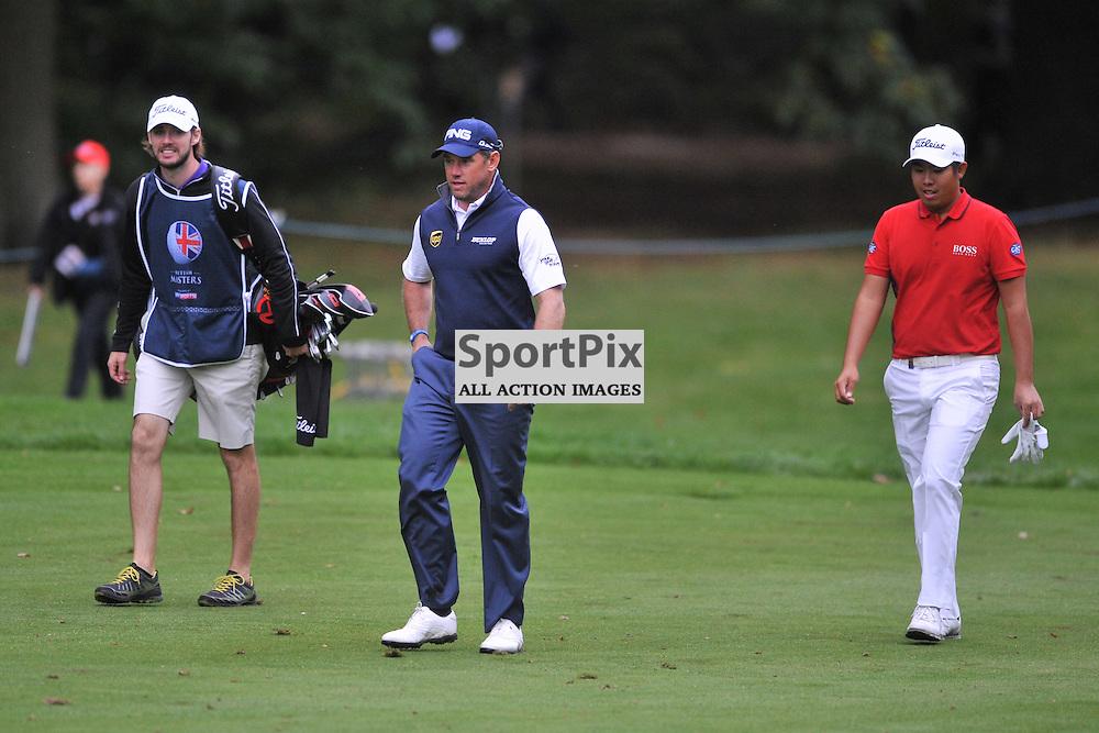 Lee Westwood  England,  British Masters, European Tour, Woburn Golf Club, 8th October 2015British Masters, European Tour, Woburn Golf Club, 8th October 2015