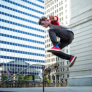 Skateboarding at the Art Institute of Chicago