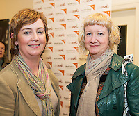 World Vision Ireland  held an exclusive screening of the critically acclaimed feature length movie Girl Rising in An Taibhdhearc, Middle Street, Galway. <br /> At the event were Fiona Dwyer, Kilcolgan and Bridget Carroll, Galway City.<br /> Girl Rising is a critically and internationally acclaimed feature film - narrated by Meryl Streep, Liam Neeson, Anne Hathaway and others - about the strength of the human spirit and the power of education.<br /> <br /> Photo:Andrew Downes