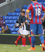 Dylan Carreiro celebrates his goal with Charlie Adam - Crystal Palace v Dundee - Julian Speroni testimonial match at Selhurst Park<br /> <br />  - &copy; David Young - www.davidyoungphoto.co.uk - email: davidyoungphoto@gmail.com