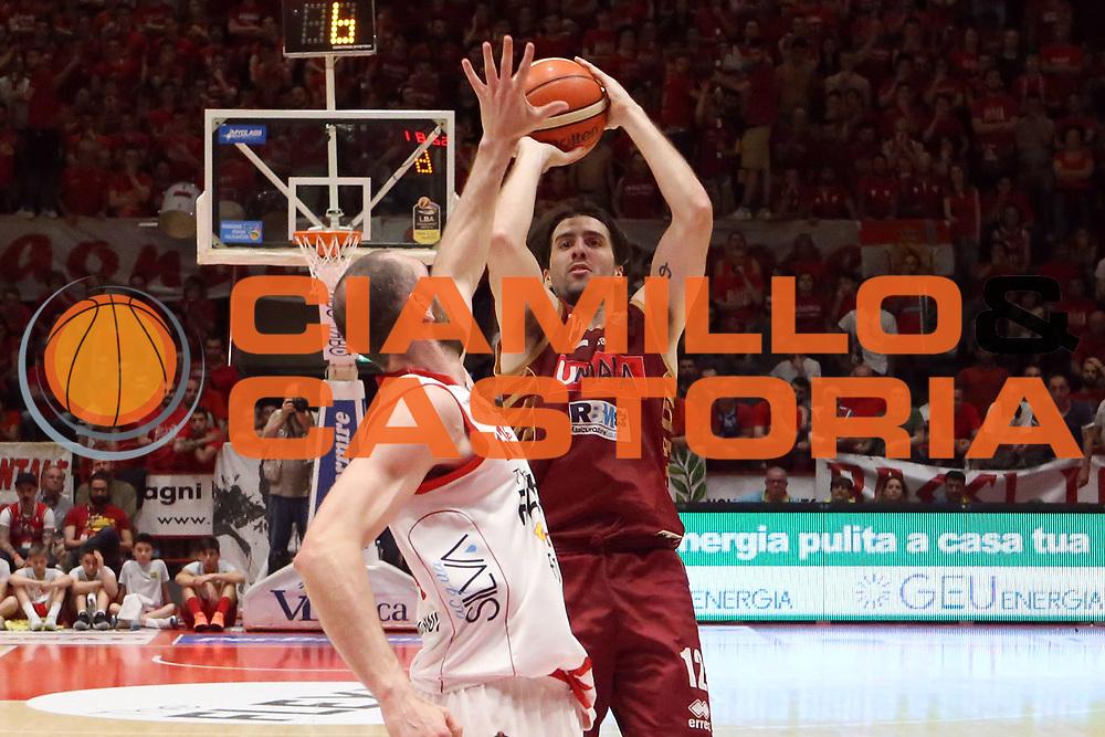 Ariel Filloy<br /> The Flexx Pistoia Umana Reyer Venezia<br /> Lega Basket Serie A 2016/2017<br /> Playoff Quarti di finale Gara 4<br /> Pistoia 19/05/2017<br /> Foto Ciamillo-Castoria