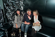 ANNA SUI; RIFAT OSBEC; ANITA PALLENBERG, Mark Jacobs' Bang' fragrance preview. Harvey Nicholls. London. 22 July 2010. -DO NOT ARCHIVE-© Copyright Photograph by Dafydd Jones. 248 Clapham Rd. London SW9 0PZ. Tel 0207 820 0771. www.dafjones.com.