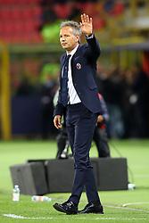 """Foto LaPresse/Filippo Rubin<br /> 25/05/2019 Bologna (Italia)<br /> Sport Calcio<br /> Bologna - Napoli - Campionato di calcio Serie A 2018/2019 - Stadio """"Renato Dall'Ara""""<br /> Nella foto: SINISA MIHAJLOVIC (ALLENATORE BOLOGNA F.C.)<br /> <br /> Photo LaPresse/Filippo Rubin<br /> May 25, 2019 Bologna (Italy)<br /> Sport Soccer<br /> Bologna vs Napoli - Italian Football Championship League A 2018/2019 - """"Dall'Ara"""" Stadium <br /> In the pic: SINISA MIHAJLOVIC (BOLOGNA'S TRAINER)"""