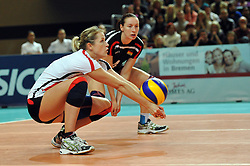 10.10.2010, Bremen Arena, Bremen, GER, Vorbereitung Volleyball WM Frauen 2010, Laenderspiel Deutschland ( GER ) vs. Tuerkei ( TUR ), im Bild Heike Beier (#12 GER). EXPA Pictures © 2010, PhotoCredit: EXPA/ nph/   Conny Kurth+++++ ATTENTION - OUT OF GER +++++