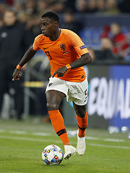 Quincy Promes of Holland during the UEFA Nations League A group 1 qualifying match between Germany and The Netherlands at the Veltins Arena on November 19, 2018 in Gelsenkirchen, Germany