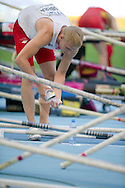 Robert Sobera from Poland prepares to the start in men's pole vault during the 14th IAAF World Athletics Championships at the Luzhniki stadium in Moscow on August 10, 2013.<br /> <br /> Russian Federation, Moscow, August 10, 2013<br /> <br /> Picture also available in RAW (NEF) or TIFF format on special request.<br /> <br /> For editorial use only. Any commercial or promotional use requires permission.<br /> <br /> Mandatory credit:<br /> Photo by © Adam Nurkiewicz / Mediasport
