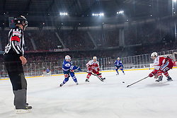 03.01.2015, Klagenfurter Wörthersee Stadion, Klagenfurt, AUT, EBEL, EC KAC vs EC VSV, 35. Runde, in picture Mark Santorelli (EC VSV, #11) during the Erste Bank Icehockey League 35. Round between EC KAC and EC VSV at the Klagenfurter Wörthersee Stadion, Klagenfurt, Austria on 2015/01/03. Photo by Matic Klansek Velej / Sportida