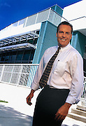 Mike Washburn, Florida Turnpike Authority executive, photographed for annual report.