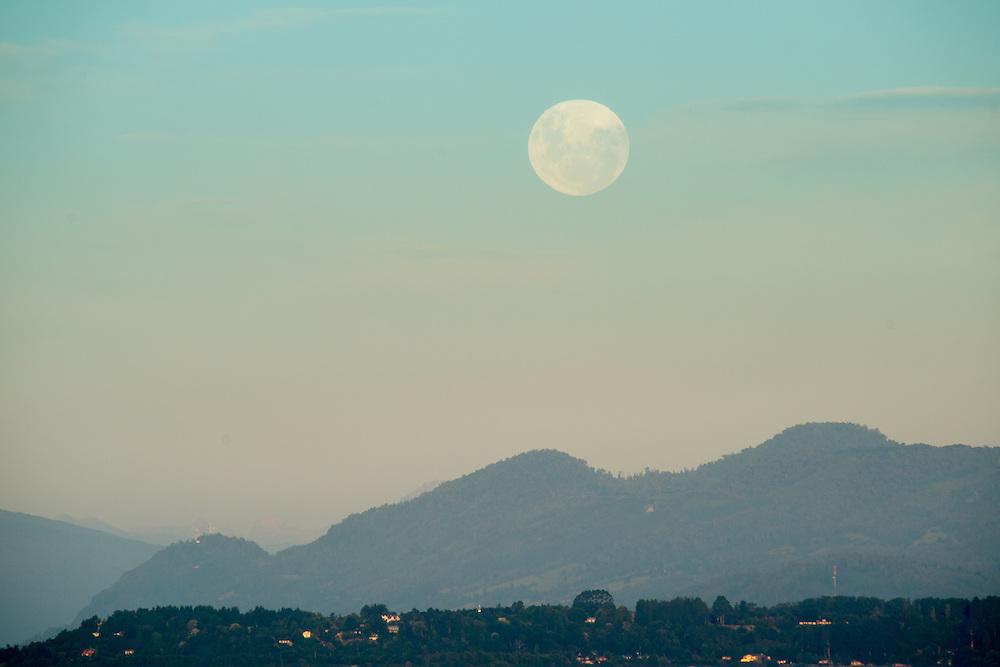 Full Moon over Mountain City