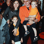 Premiere Teigetje Amersfoort, Jeroen van Inkel met vrouw Sandra Dinsbach en kinderen