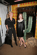 TAMARA BECKWITH AND ANOUSKHA BECKWITH , Young Vic fundraising Gala after performance of Vernon God Little. The cut. London. 10 May 2007.  -DO NOT ARCHIVE-© Copyright Photograph by Dafydd Jones. 248 Clapham Rd. London SW9 0PZ. Tel 0207 820 0771. www.dafjones.com.