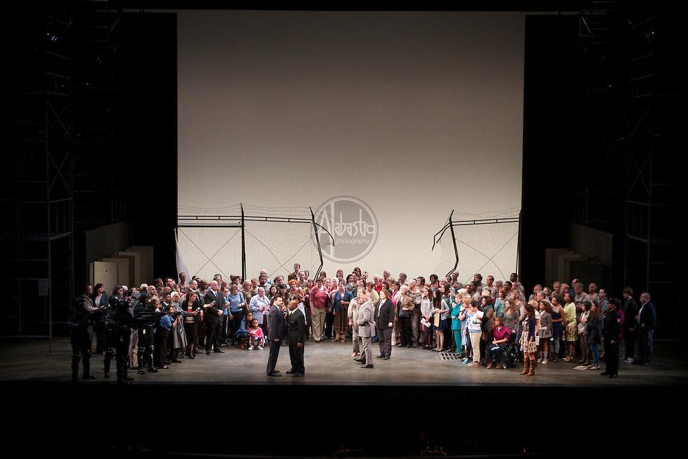 Seattle Opera production of Fidelio, 10/10/12.