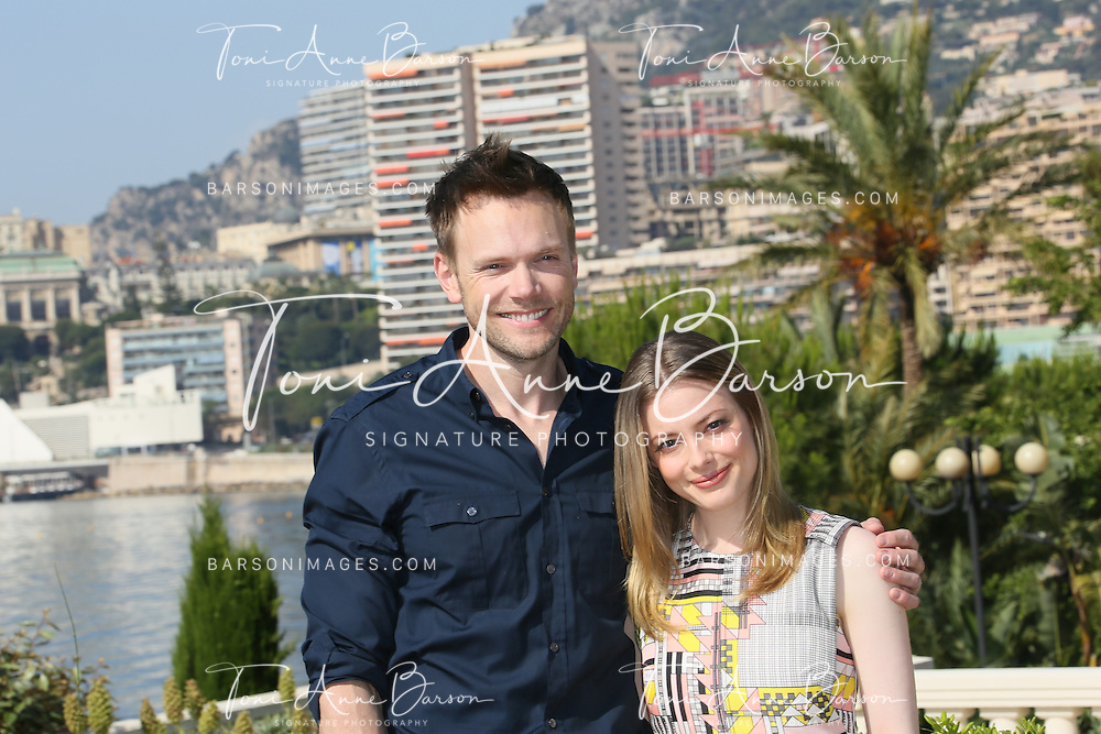 "MONTE-CARLO, MONACO - JUNE 09:  Gillian Jacobs and Joel McHale attend ""Community"" photocall at the Monte Carlo Beach Hotel on June 9, 2014 in Monte-Carlo, Monaco.  (Photo by Tony Barson/FilmMagic)"