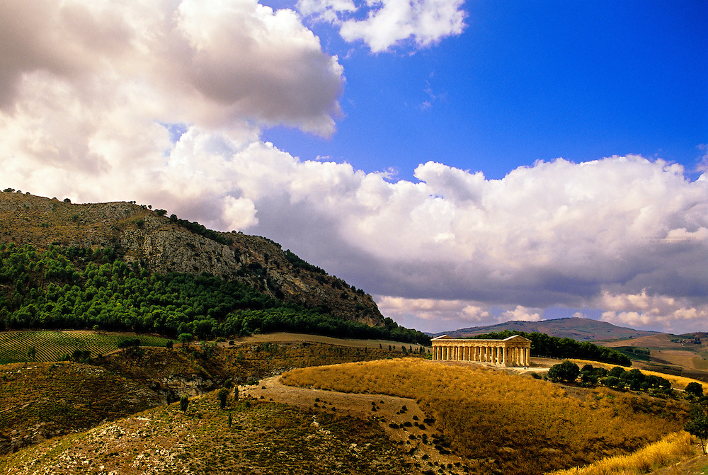 Greek Temple, Segesta, Sicily, Italy