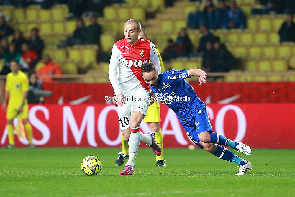 DIMITAR BERBATOV / Gael DANIC - 13.03.2015 -   Monaco / Bastia -  29eme journee de Ligue 1 <br />