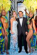 Felipe Massa and his wife attends the 1st &quot;Brazilian Night in Monaco&quot; of  the association &quot;Brasil Monaco Project&quot; in the hotel de Paris <br /> Felipe Massa et sa femme assistent &agrave; la 1&egrave;re &quot;Nuit du Br&eacute;sil &agrave; Monaco&raquo; de l'association &quot; Brasil Monaco Project &quot; a l'h&ocirc;tel de Paris, Monaco