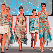 Fashion parade at Great Yorkshire Show. Clothes designed by Maria Franco.