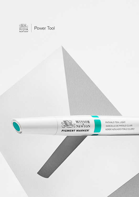 Still life advertising for Winsor and Newton Art Products by Photographer Timothy Hogan.