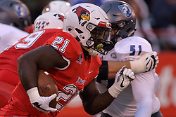 NORMAL, IL - September 08: Markel Smith during 107th Mid-America Classic college football game between the ISU (Illinois State University) Redbirds and the Eastern Illinois Panthers on September 08 2018 at Hancock Stadium in Normal, IL. (Photo by Alan Look)