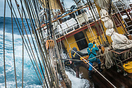 Antarctica, February 2018. Dutch Tallship, Bark Europa, explores Antarctica during a 22 day sailing expedition. Photo by Frits Meyst / MeystPhoto.com