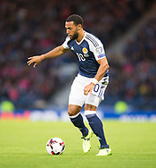 4th September 2017, Hampden Park, Glasgow, Scotland; World Cup Qualification, Group F; Scotland versus Malta; Scotland's Matt Phillips