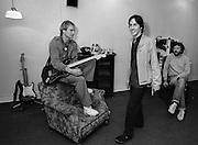 Sting - The Police - backstage Secret Policemans Ball - 1982