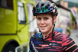 Tiffany Cromwell (AUS) makes her way to sign on at Emakumeen Bira 2018 - Stage 3, a 114.5 km road race starting and finishing in Aretxabaleta, Spain on May 21, 2018. Photo by Sean Robinson/Velofocus.com