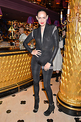 LUCY NEWMAN at a party to celebrate Pam Hogg receiving an honorary Doctorate from Glasgow University held at Park Chinois, 17 Berkeley Street, London on 11th July 2016.