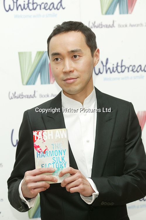 Tash Aw at the Whitbread Book Awards 2006<br /><br />Copyright Graham Jepson/Writer Pictures<br />contact +44 (0)20 8241 0039<br />sales@writerpictures.com<br />www.writerpictures.com
