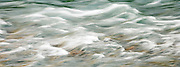 rapids in the Duckabush River, Olympic Mountains, WA, USA panorama