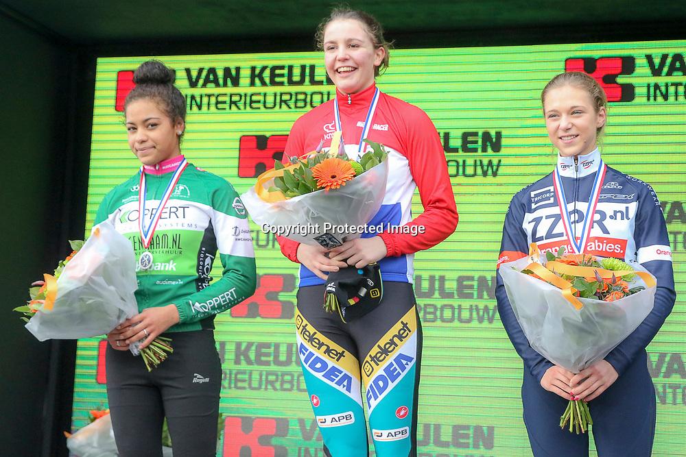 09-01-2016: Wielrennen: NK Veldrijden: Hellendoorn<br /> HELLENDOORN (NED) veldrijden<br /> Op de flanken van de Sallandse Heuvelrug streden de veldrijders om de Nederlandse titel.