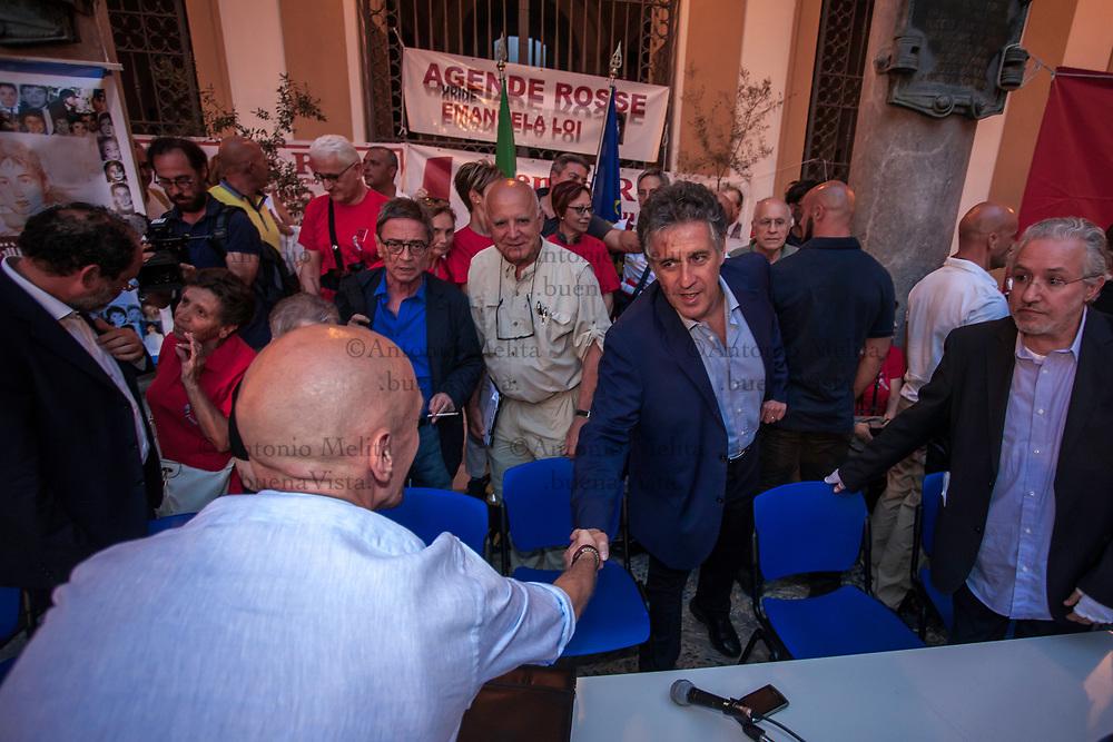 Nino Di Matteo during the anti-mafia conference organized for the 25th anniversary of the massacre of Via D'Amelio.<br /> <br /> Nino Di Matteo durante il convegno antimafia organizzato in occasione del 25&deg; anniversario della strage di Via D'Amelio.