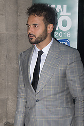 Grosvenor House Hotel, London, September 7th 2016. Celebrities attend the RSPCA's annual awards ceremony recognising the country's bravest animals and the individuals committed to improving their lives. PICTURED: Ryan Thomas from Coronation Street