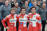 Nicolas Prost (FRA) / Nelson Piquet Jr (BRA) / Nick Heidfeld (DEU) #12 Rebellion Racing Rebellion R-One AER,  during the Le Mans 24 Hr June 2016 at Circuit de la Sarthe, Le Mans, Pays de la Loire, France. June 13 2016. World Copyright Peter Taylor/PSP.