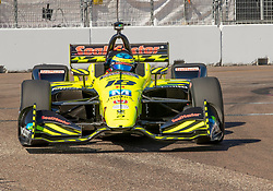 March 9, 2019 - St. Petersburg, FL, U.S. - ST. PETERSBURG, FL - MARCH 09: Dale Coyne Racing with Vasser-Sullivan driver Sebastien Bourdais (18) of France during the NTT IndyCar Series - Firestone Grand Prix Qualifying on March 9 in St. Petersburg, FL. (Photo by Andrew Bershaw/Icon Sportswire) (Credit Image: © Andrew Bershaw/Icon SMI via ZUMA Press)