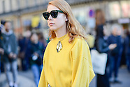 Paris - Stella McCartney Street Style - 03 Oct 2016