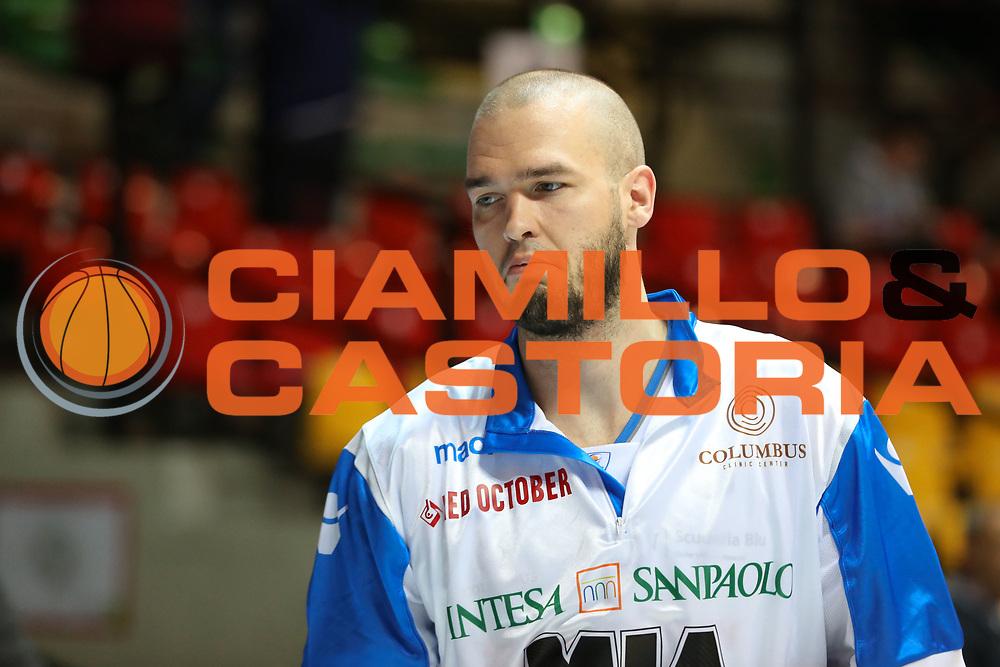 Calathes Patrick, Mia Cantù vs Grissin Bon Reggio Emilia LBA serie A 6^ giornata di ritorno stagione 2016/2017 PalaDesio 06/03/2017