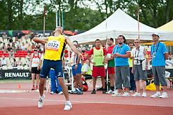 FRANCO C. E, COL, Javelin, F11, 2013 IPC Athletics World Championships, Lyon, France