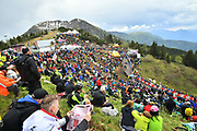 Photo Massimo Paolone - LaPresse<br /> May 19, 2018  San Vito al taglaimento-Monte<br /> Zoncolan(Italy)  <br /> Sport Cycling<br /> Giro d'Italia 2018 - 101th edition -  stage 14<br /> SAN VITO AL TAGLIAMENTO - MONTE ZONCOLAN<br /> In the pic: peleton during the race