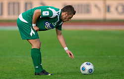 Agim Ibraimi of Olimpija at 13th Round of Prva Liga football match between NK Olimpija and Maribor, on October 17, 2009, in ZAK Stadium, Ljubljana. Maribor won 1:0. (Photo by Vid Ponikvar / Sportida)