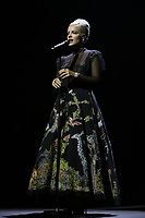 Lily Allen performing