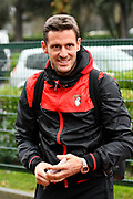 Bournemouth Assistant manager Jason Tindall arriving before the Premier League match between Bournemouth and Liverpool at the Vitality Stadium, Bournemouth, England on 17 December 2017. Photo by Graham Hunt.