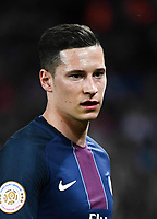 Julian Draxler of PSG during the Ligue 1 match between Paris Saint Germain and En Avant Guingamp at Parc des Princes on April 9, 2017 in Paris, France. (Photo by Anthony Dibon/Icon Sport)