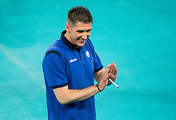 Slobodan Kovac, head coach of Slovenia during volleyball match between National teams of Slovenia and Georgia in 2nd Round of 2018 FIVB Volleyball Men's World Championship qualification, on May 24, 2017 in Arena Stozice, Ljubljana, Slovenia. Photo by Vid Ponikvar / Sportida